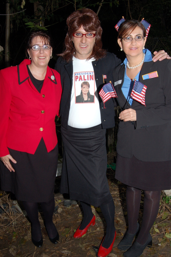 """The Three Palins"" from Halloween 2008"